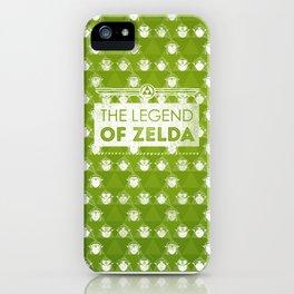 Zelda motif iPhone Case