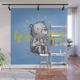 Life is Music Wall Mural