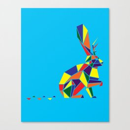 Wingless Wolpertinger (A.K.A Jackelope) Canvas Print