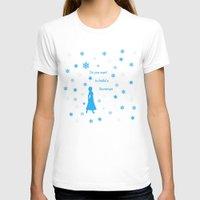 snowman T-shirts featuring Snowman by BlackBlizzard