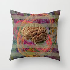 Brain is our masterpiece Throw Pillow