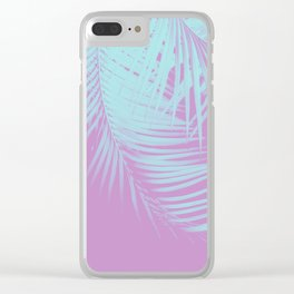 Palm Leaves Summer Vibes #5 #tropical #decor #art #society6 Clear iPhone Case