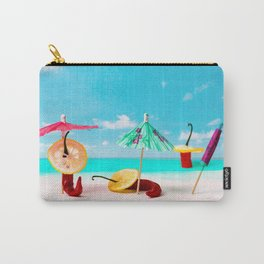 Happy beach hours Carry-All Pouch