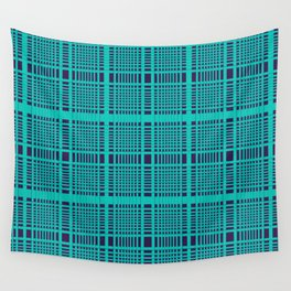 Plaid Design 3 QR Wall Tapestry