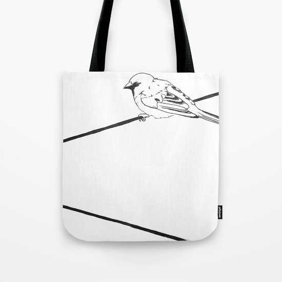 On a Wire Tote Bag