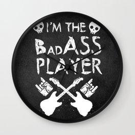 BadASS Player Wall Clock