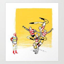 the group Art Print