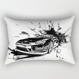GTR Inked Rectangular Pillow