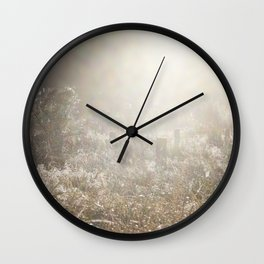 Country Mist Wall Clock