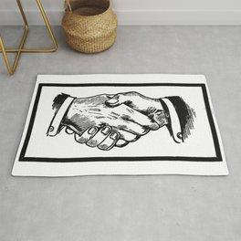 Handshake Rug