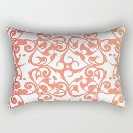 Watermelon Lace Rectangular Pillow