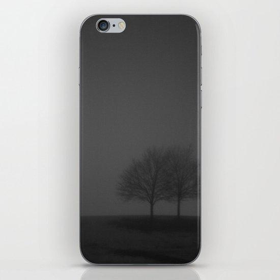 It was a dark and foggy night... iPhone & iPod Skin