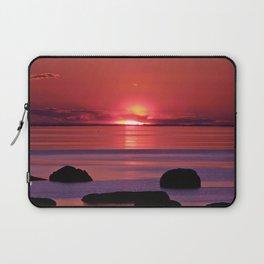 Sunset Ripples Laptop Sleeve