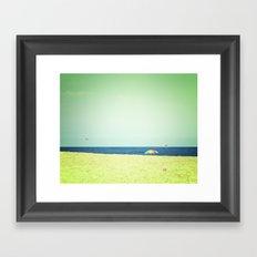 Fleeting days of summer Framed Art Print
