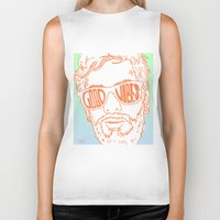 good vibes Biker Tanks featuring GOOD VIBES by YTRKMR