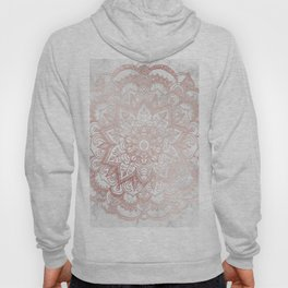 Rose Gold Mandala Star Hoody
