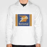 the national Hoodies featuring National Logo by Bruce Stanfield