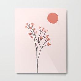 The Wall Theory Botanical Art 26 Metal Print