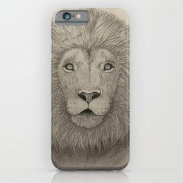 Lion Art iPhone Case