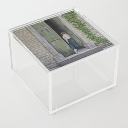 Going In and Out Acrylic Box