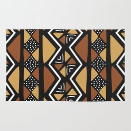 African mud cloth Mali Rug
