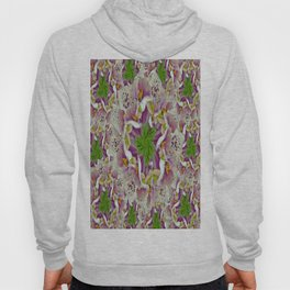Digitalis Purpurea Flowers Hoody