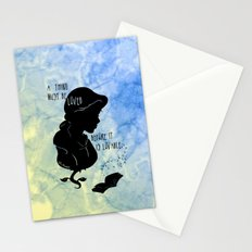 A Thing Must Be Loved Stationery Cards