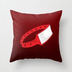Polsera Vermella Throw Pillow