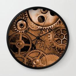 Steam Punk Gears Wall Clock