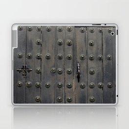 Old Black Door Laptop & iPad Skin