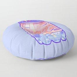Peach Bubbles Floor Pillow