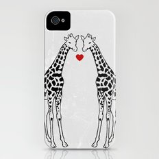 Giraffe Love iPhone (4, 4s) Slim Case