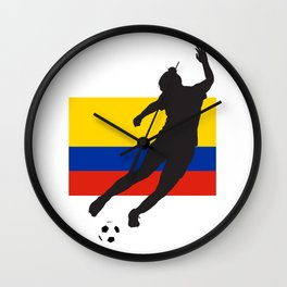 Colombia - WWC Wall Clock