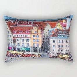 Tallinn art 10 #tallinn #city Rectangular Pillow