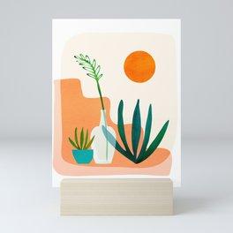 Southwest Home / Desert Landscape Series Mini Art Print