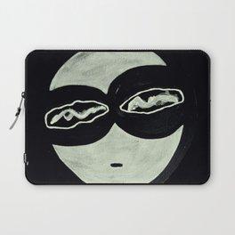 ONO FACE BLACK BACKGROUND Laptop Sleeve