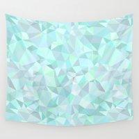 mint Wall Tapestries featuring Mint by Kimsa