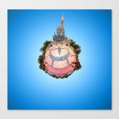 Cinderella Castle in the #DisneyGalaxy Canvas Print