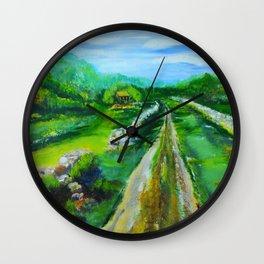 Mrs. Gambels Home Wall Clock