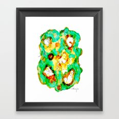 Verde que te quiero verde Framed Art Print