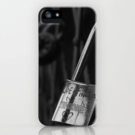 Brooklyn Locks iPhone Case