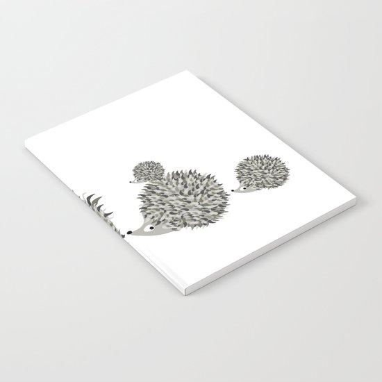 Hedgehogs family Notebook