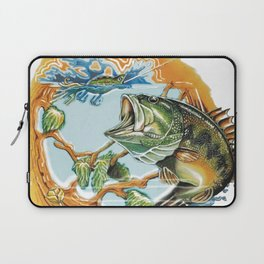 Bucket Mouth Bass Beer Laptop Sleeve