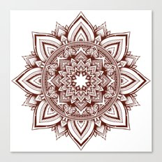 fire escape mandala Canvas Print