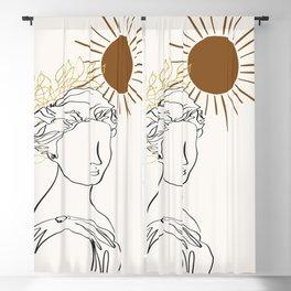 The Sun Of Rome Blackout Curtain
