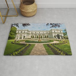 Newport Mansions, Rhode Island - Rosecliff - Original Great Gatsby Mansion by Jeanpaul Ferro Rug