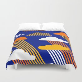 Blue Skies Duvet Cover