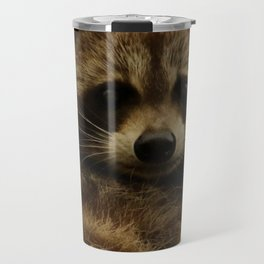 Happy in her hideout Travel Mug