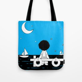Midnight Harbour - Retraced Tote Bag