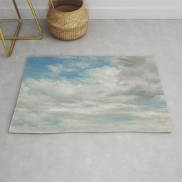 Clouds Painting, 1922 - John Constable Rug